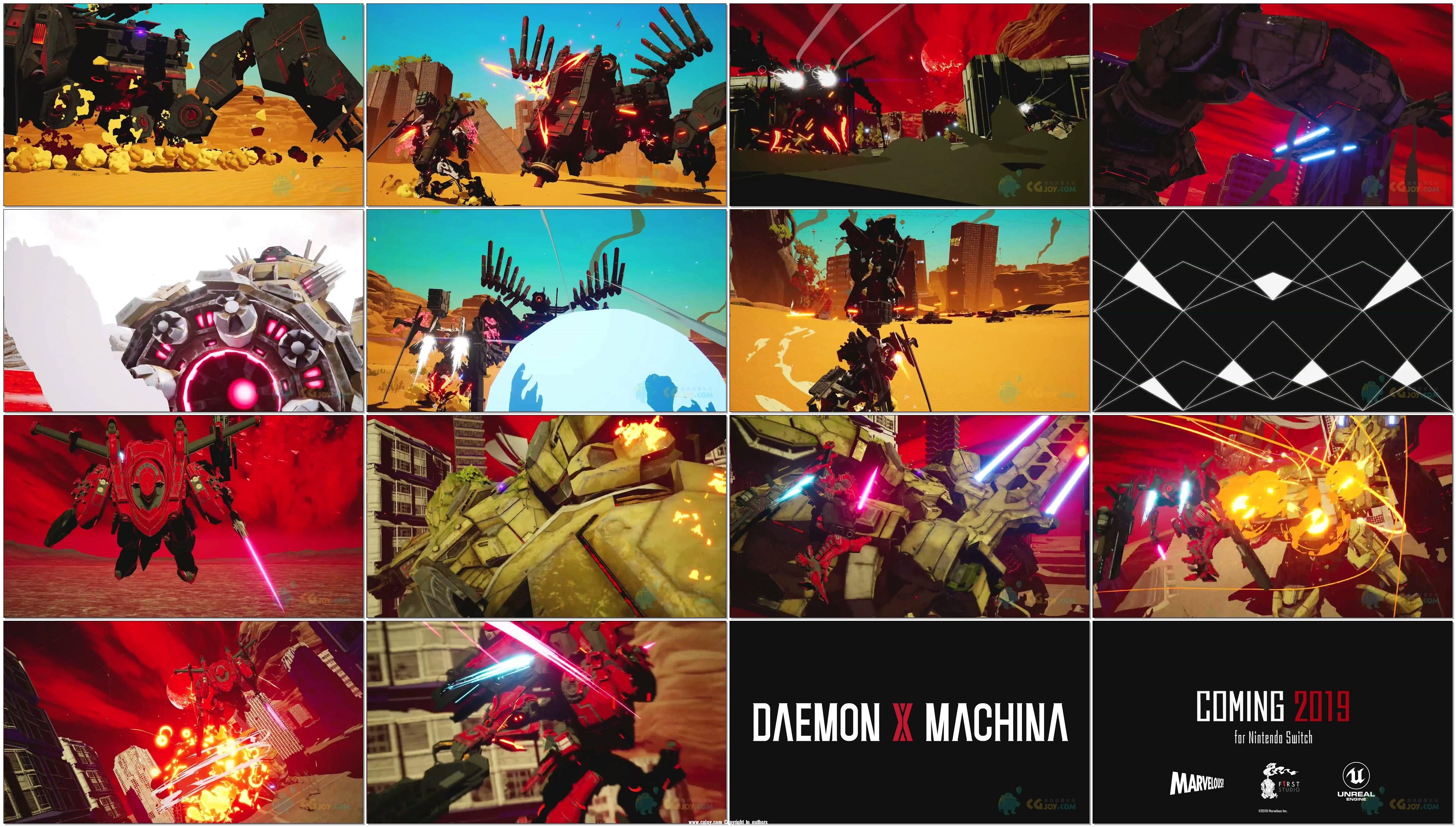 E3 Play2018-任天堂公布机甲动作新游 DAEMON X MACHINA - 预告片.mp4.jpg