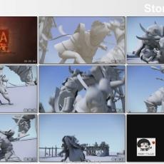 第二届M.O.A格斗动画大赛参赛作品集发布!