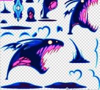 日式卡通风格游戏特效贴图下载