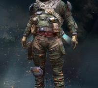 次世代游戏角色作品含模型及贴图
