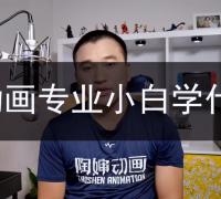 【陶婶问答】第十四期:动画专业小白应该学什么?