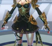 韩国手游【Axe】角色模型第一弹