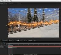 AE教程:使用Saber制作人物奔跑拖尾光效