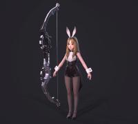 分享兔女郎 弓箭手 女仆