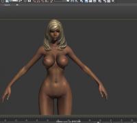 剑灵女性裸体