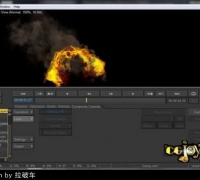 3dsmax与FumeFX制作火龙特效教程  Exclusive Creating a Fire Dragon with FumeFX