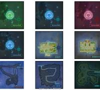 地图界面素材资源