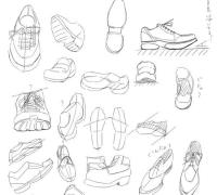 如何画好漫画中的鞋子?