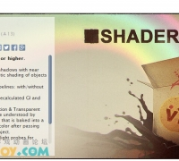 unity3d 游戏插件 shaderbox 高品质材质