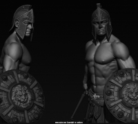 游戏用的一套男性高模角色模型。