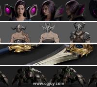 《英雄联盟》战士CG角色模型(转)