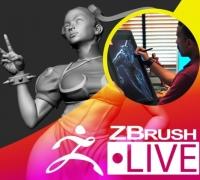街霸春丽—ZBrush雕刻
