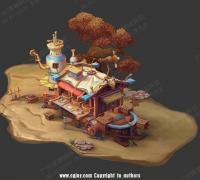 【博狮网络】承接 原画/3D角色模型/场景模型/三维动作/2D/3D游戏美术外包