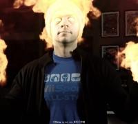 AE教程 人体火焰燃烧特效教程