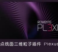 AE 点线面三维粒子插件plexus_v3.1.14b
