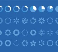 Loding图标UI