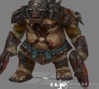 怪物max9源文件(包含走跑死亡攻击待机)