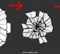 feerstyle演示用AE简单制作一个地裂贴图