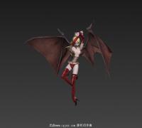 带翅膀的女魔全套满帧动作