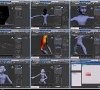 Thinking Particles制作角色破碎效果教程Thinking Particles VolumeBreaker Animat...