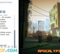Unity3D 灾难城市模型下载