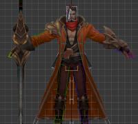 王者荣耀未出世的角色,大刀一枚,练手的可以免费下载玩玩