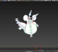 3Dmax里Bone骨骼动画正常,导入UE4里乱转!有哪位大神指导下具体的解决办法!