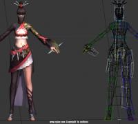 女刺客——武器峨眉刺