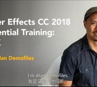 AE CC 2018视觉特效基础核心训练视频教程(机翻中英文字幕)