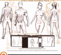 男女人体动态的画法参考,这个需要打码!!!!