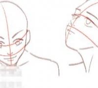 新手小白怎么掌握脸部平衡?该怎么画动漫人物脸部?有什么技巧?