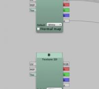 Shader Forge如何让一个纹理获取另一个纹理的值?