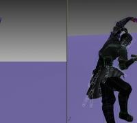 舞剑的短动画源文件