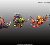 福州自由动漫设计有限公司  专业承接各类游戏动漫项目