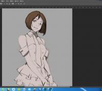 日式動畫女生繪畫教程
