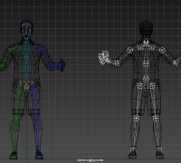 【簡單快捷】FBX骨骼轉化為BIP骨骼