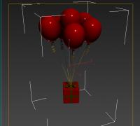气球-带贴图