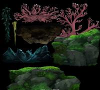 《奥日与黑暗森林 Ori and the Blind Forest》(奥里与迷失森林)全套贴图特效资源