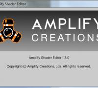 Amplify Shader Editor 1.8.0