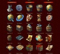 Ancient Legend 图标设计(2008 GUI冠军赛图标作品)