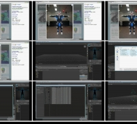 MotionBuilder快速入门教程--如何导入.C3D文件并使用