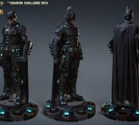 蝙蝠侠3d模型