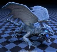 龙的模型带30个动作