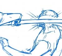 苍鬼.纶最新个人2D动画作品-枪