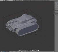blender坦克履带绑定