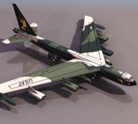 60多架高模飞机