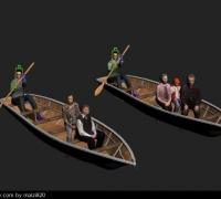 小木船-单桨over