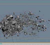 3DMAX-RayFire 二次破碎学习教程