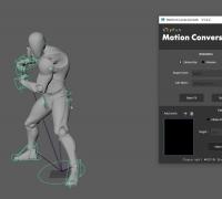 3dsMax Bip转Maya Adv脚本 V1.2.2 脚本及使用教程(搬运)