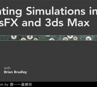 3dsMax运动学系统MassFX视频教程Lynda.com Creating Simulations in MassFX and 3d...